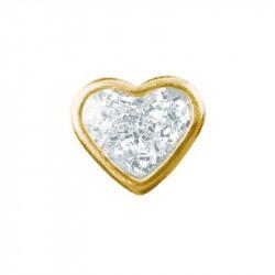 Coeur Brillant - doré