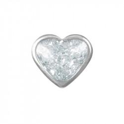 Coeur Brillant - acier