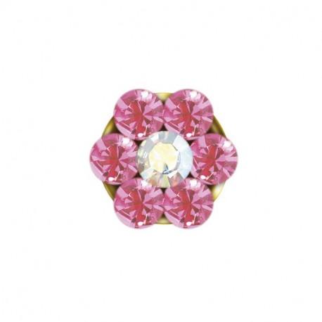 Baby box daisy rose / AB cristal