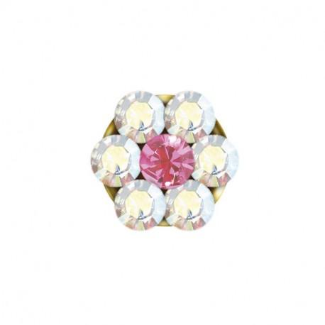 Baby box daisy AB cristal