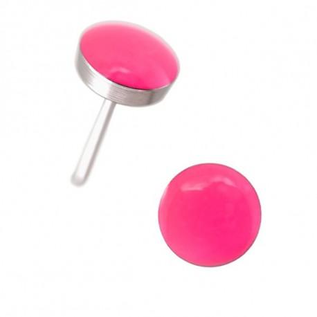 NEON Novelty hot pink,  acier
