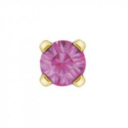 Cristal rosé 3mm