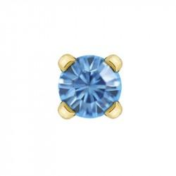 Cristal Aiguemarine 3mm