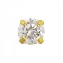 Zircon carré 4mm